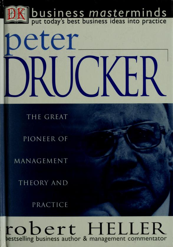 Peter Drucker by Heller, Robert